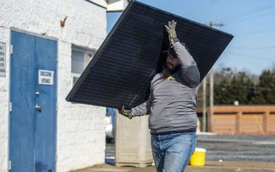 Solar panels donated to Forest Youth Athletic Association