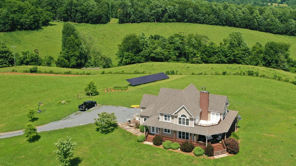 Project Highlight | Roseland, VA Ground Mount Solar Install